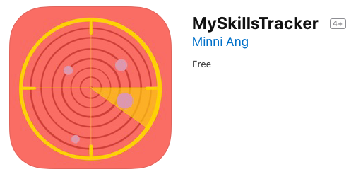 MySkillsTracker App Icon